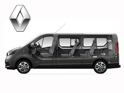 Renault trafic 9 plazas