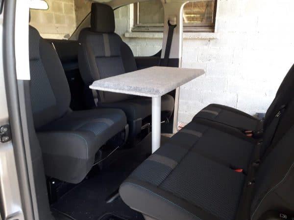 camperizar furgoneta Tripode universal Furgomania